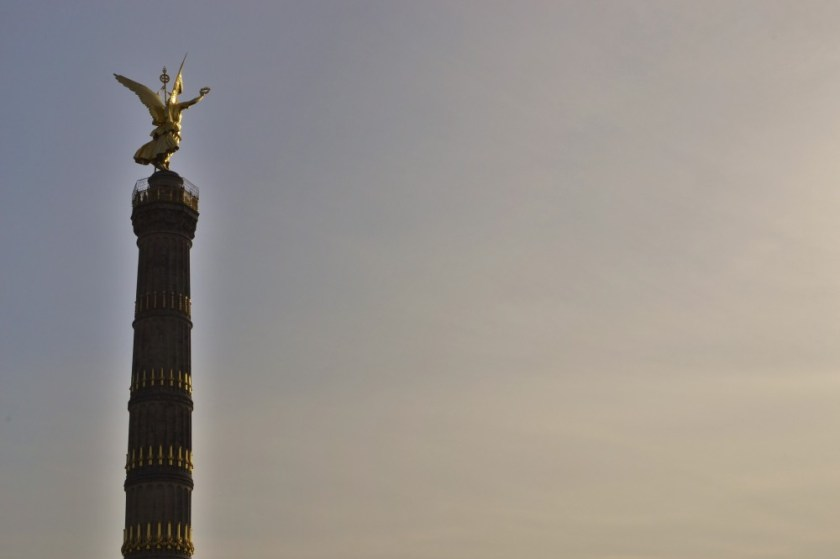 Victory column in Berlin, Germany