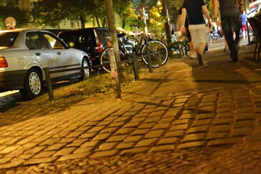 Night scenes in Berlin, Germany