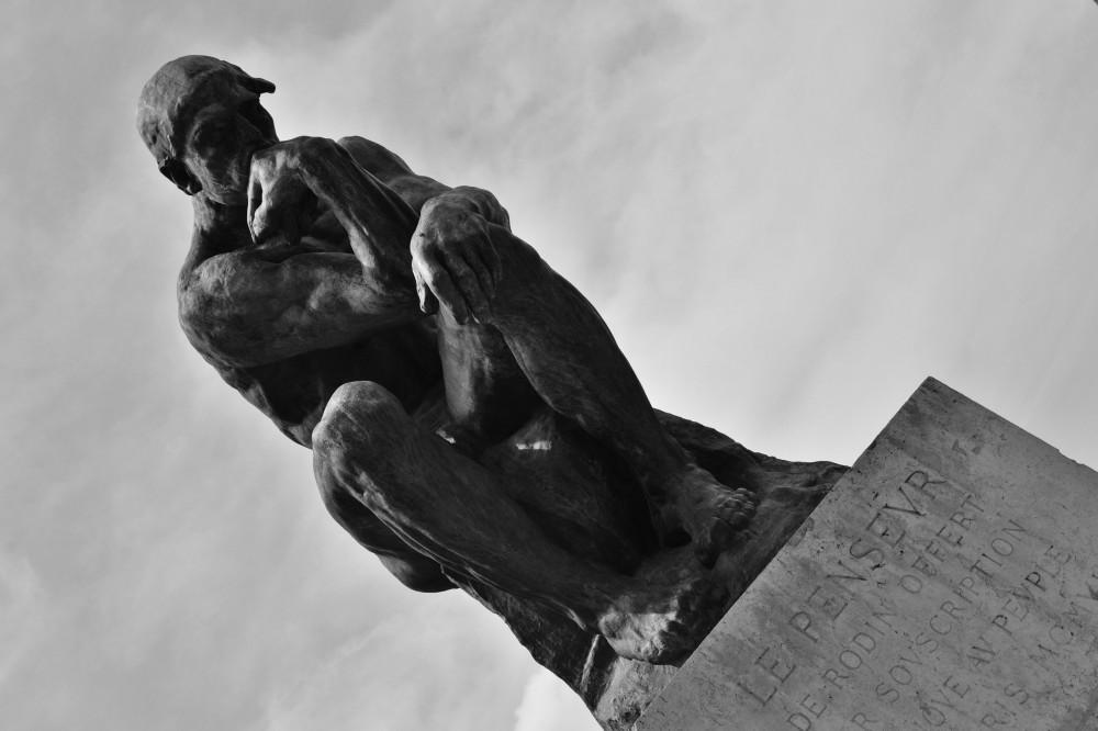 The Thinker at Musée Rodin, Paris, France