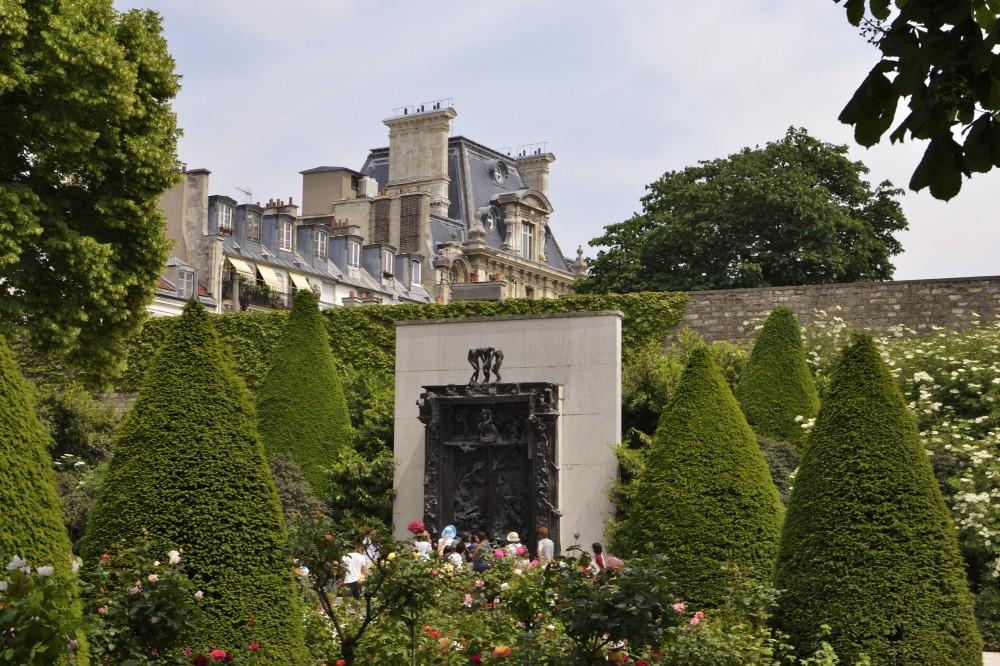 The gardens of Musée Rodin, Paris, France