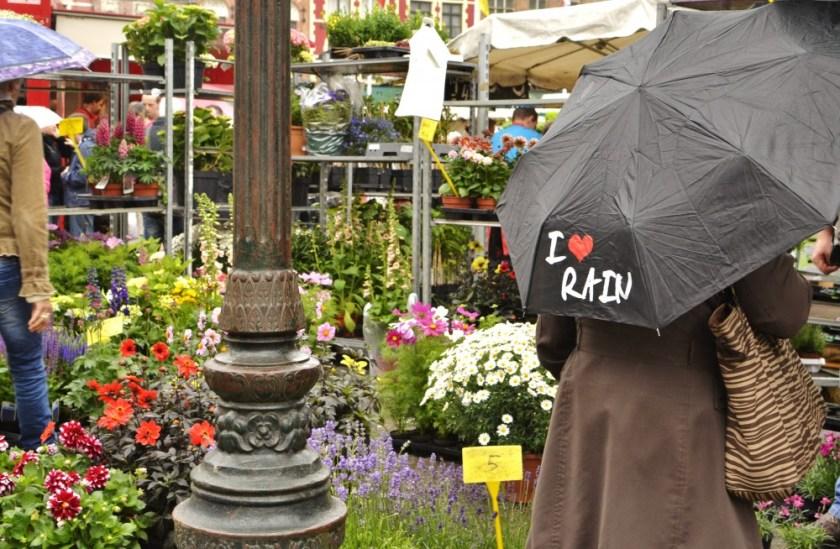 Loving rain in Europe!