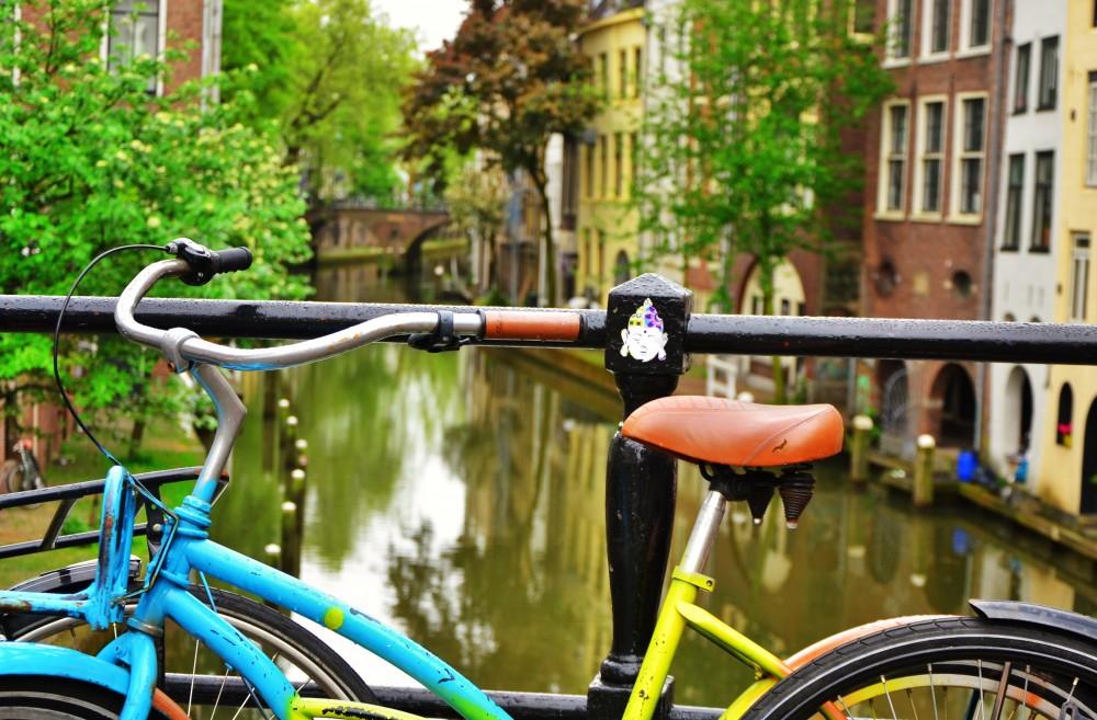 Utrecht in the rain