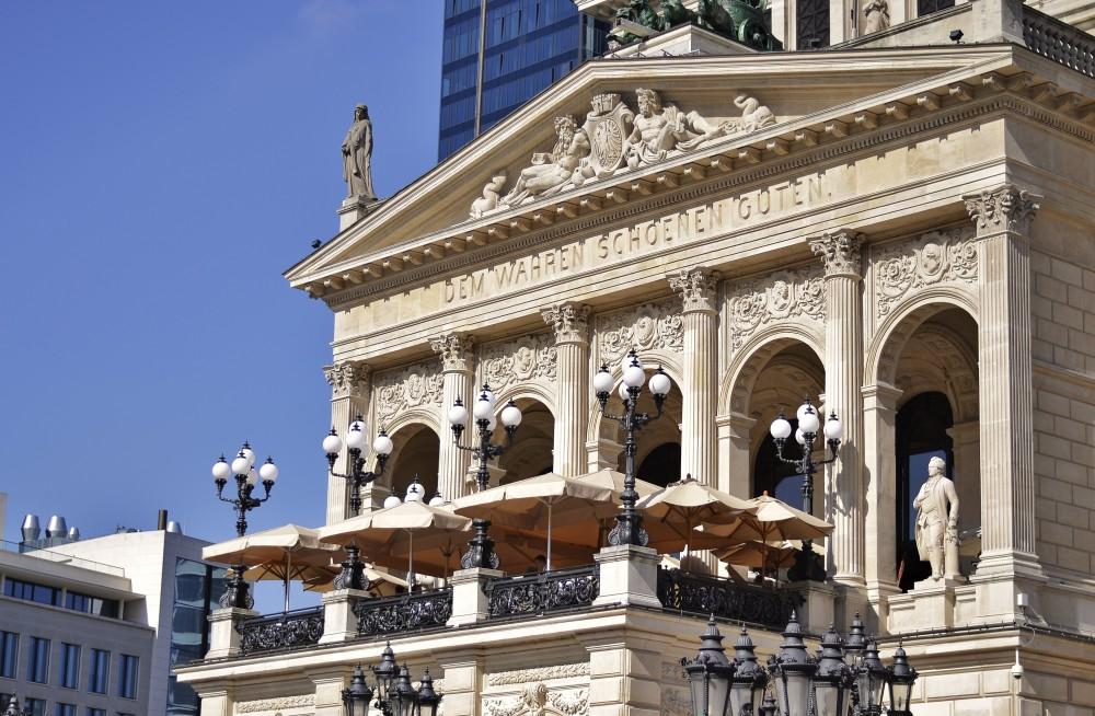 Old Opera, Frankfurt, Germany