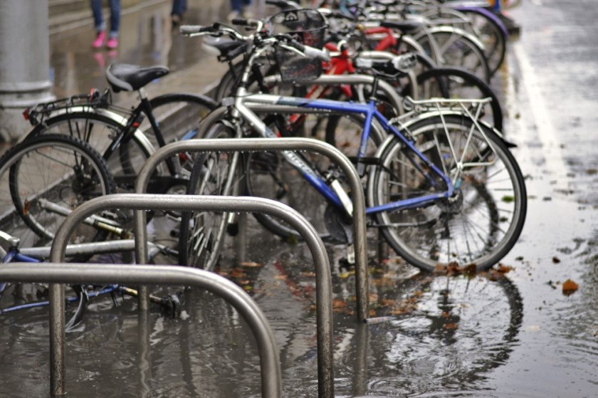 Rainy Dublin, Ireland