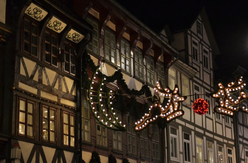 Christmas lights in Göttingen, Germany