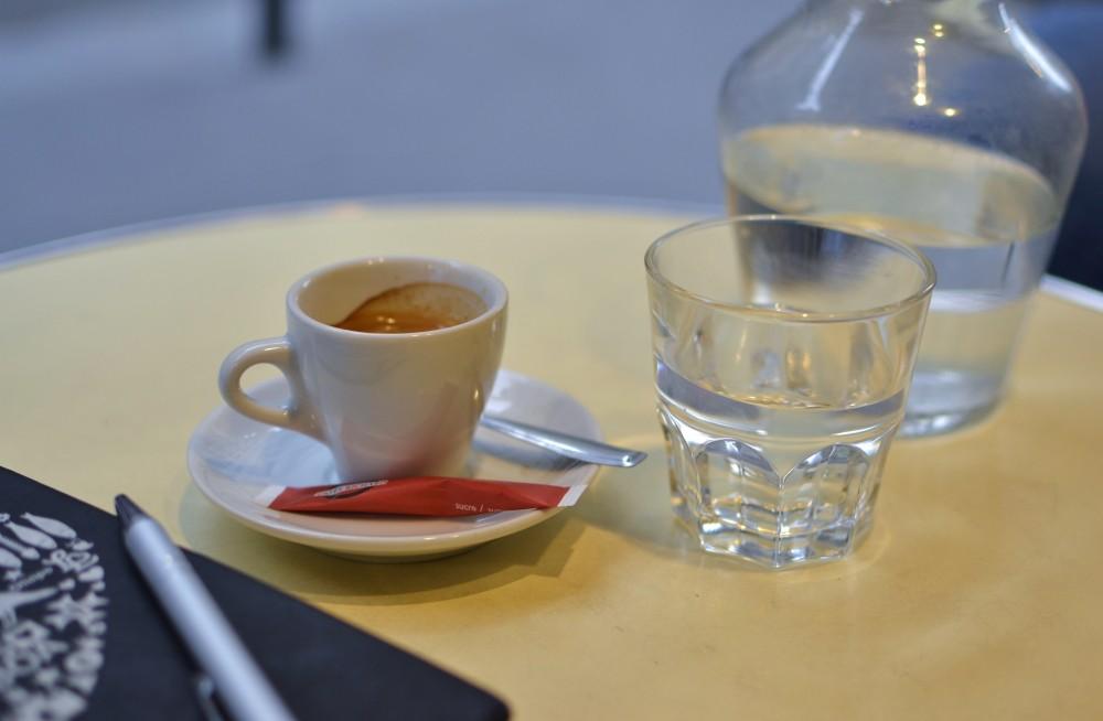 Espresso in Paris, France