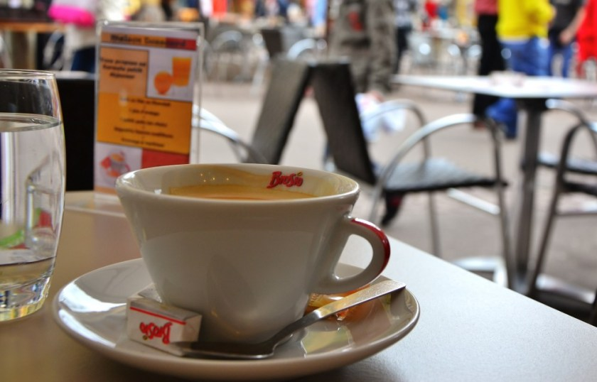 Coffee in Colmar, France