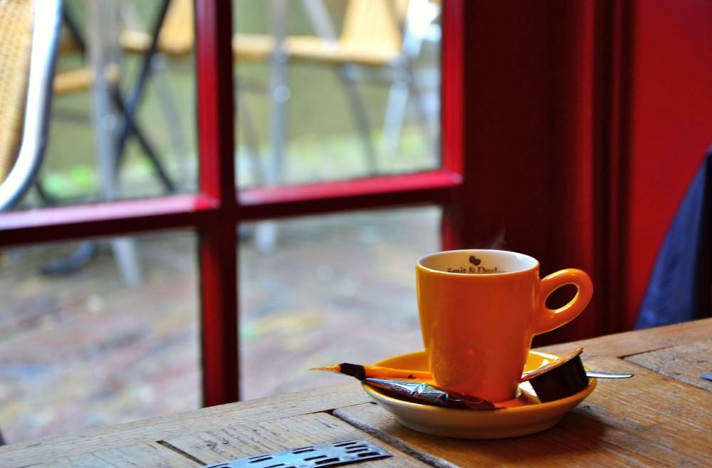 Coffee in Utrecht, Holland