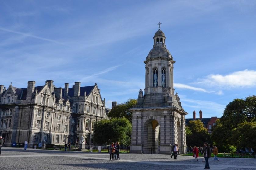 Bell Tower, Trinity College, Dublin, Ireland