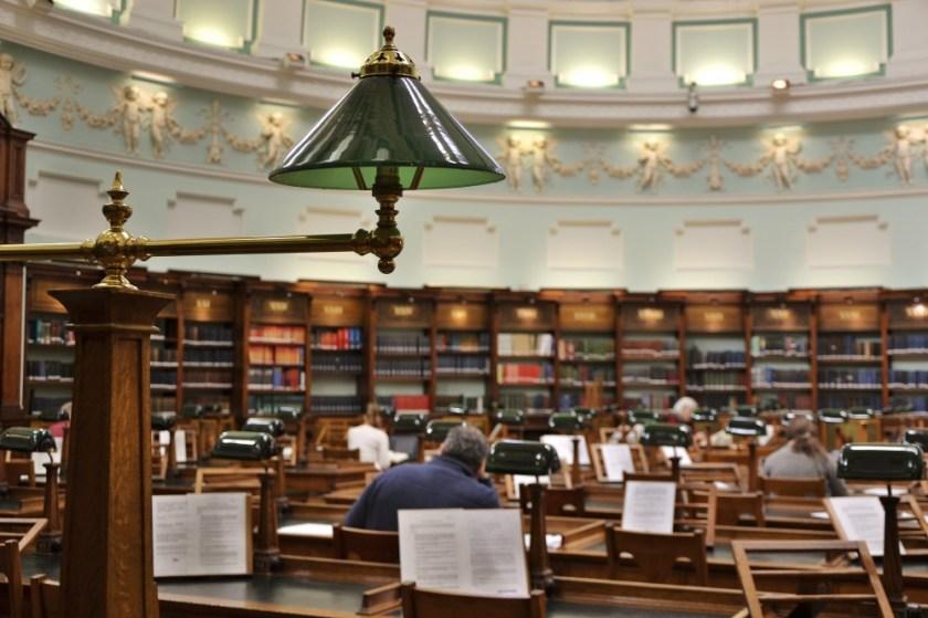 The Reading Room, National Library, Dublin, Ireland