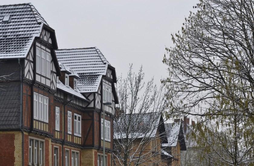 Snow days in Göttingen, Germany