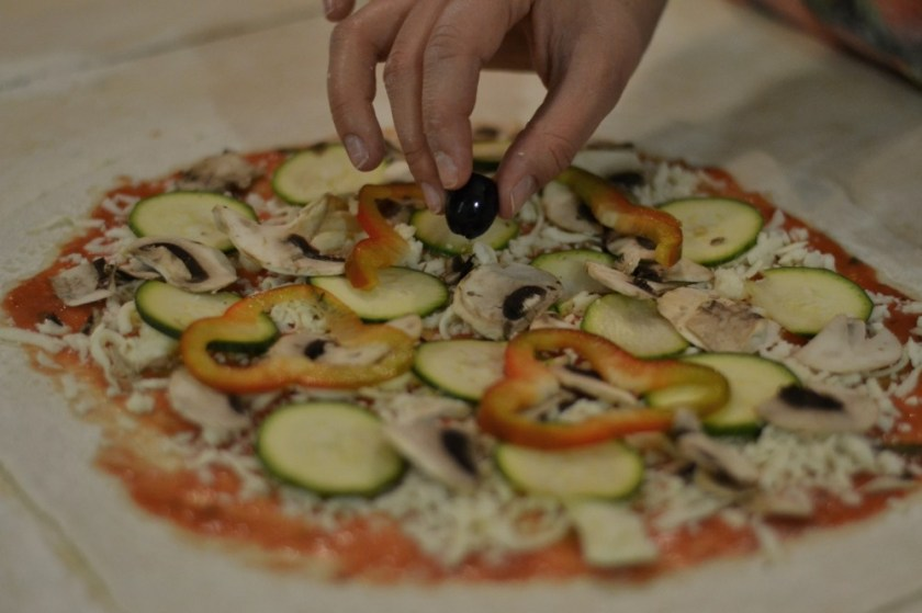Making pizza in Rome