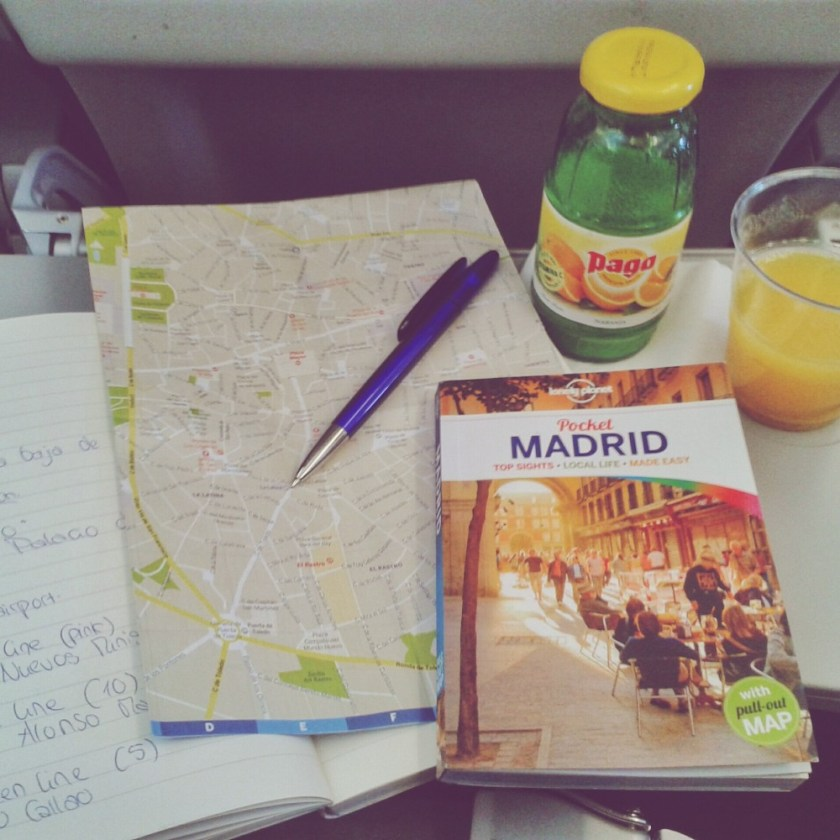 Traveling to Madrid