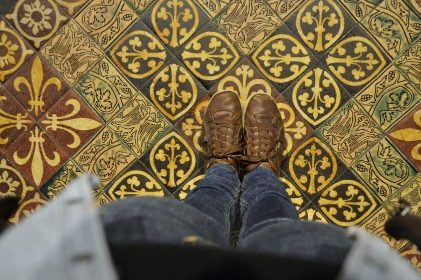 Inside Saint Patrick's Cathedral , Dublin, Ireland