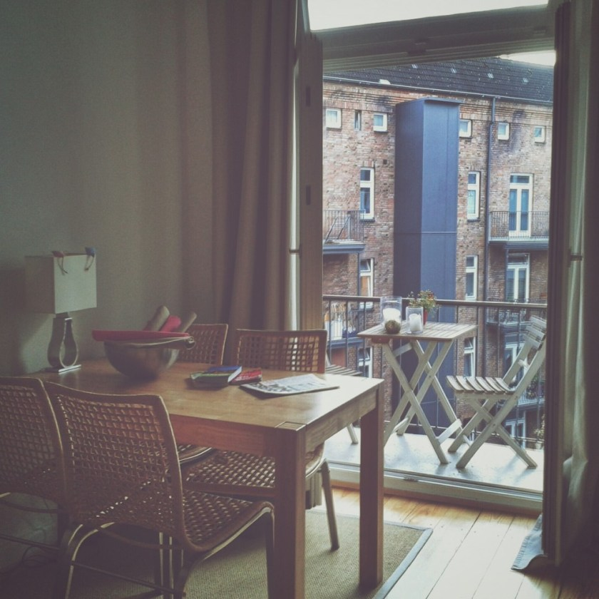 AirBnB apartment in Hamburg, Germany