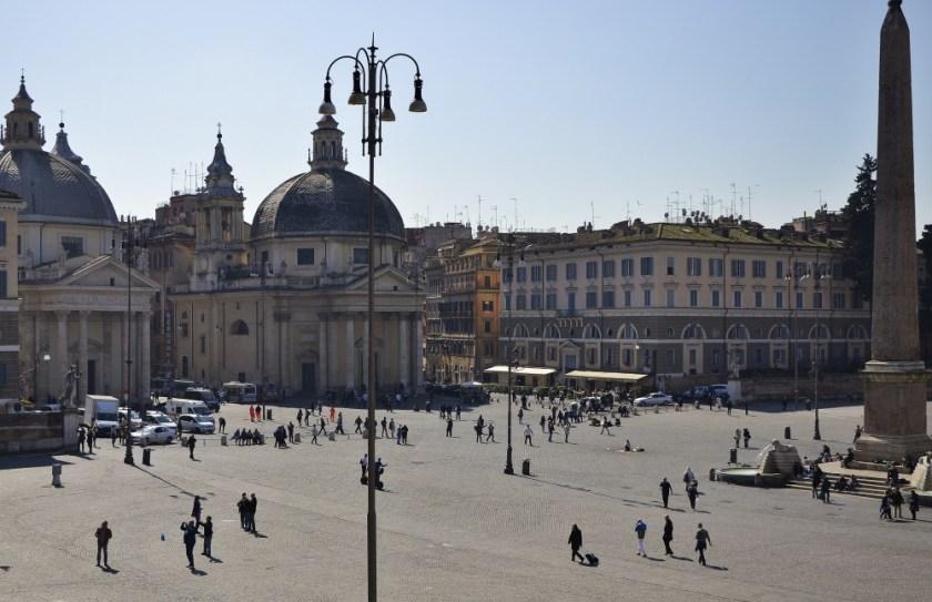 Piazza del Popolo, Rome,, Italy