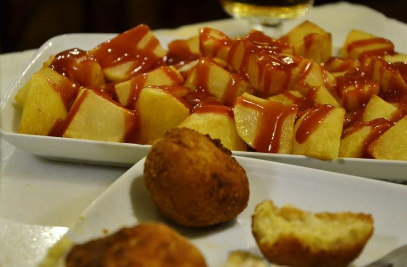 Best fried food in Madrid, Spain