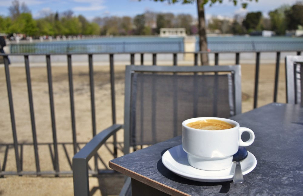 Solo coffee in Madrid