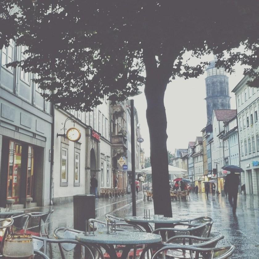 Rainy July days, Göttingen, Germany