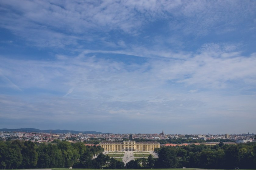 View from the Gloriette, Vienna, Austria