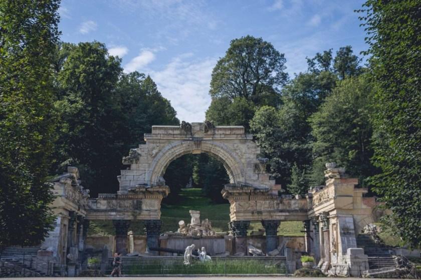 Schönbrunn Imperial Gardens, Vienna, Austria