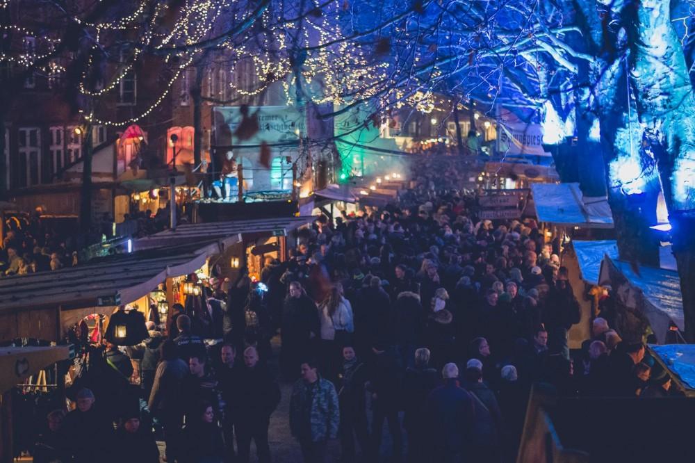 Pirates' Christmas market, Bremen, Germany