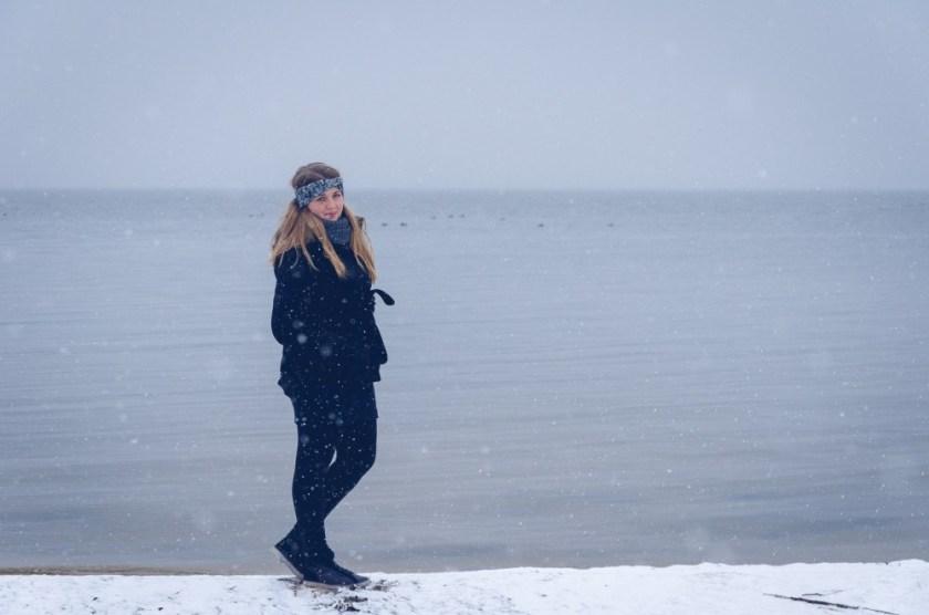 Julika at Steinhuder Meer, Lower Saxony, Germany