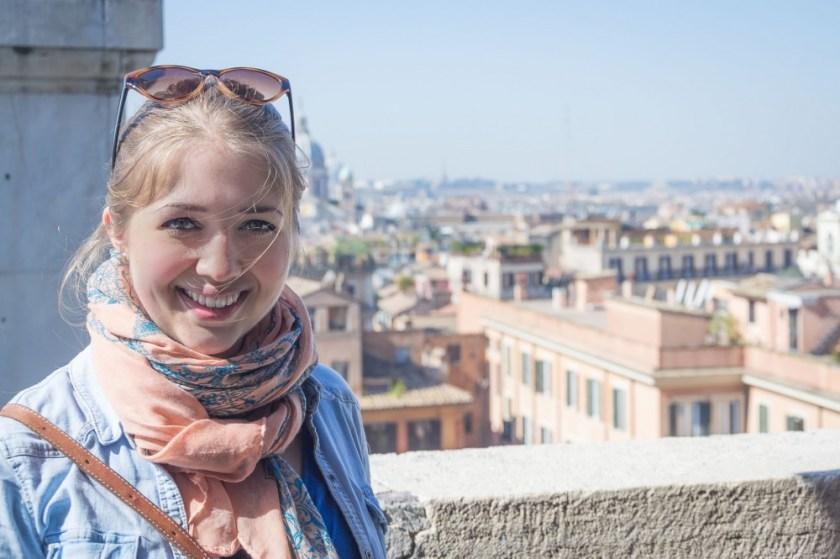Julika in Rome, Italy