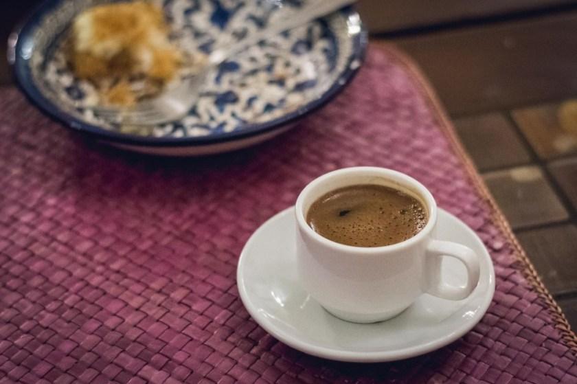 Coffee at Beit Sitti, Amman, Jordan