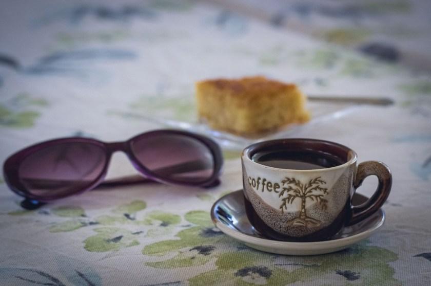 Coffee in Madaba, Jordan