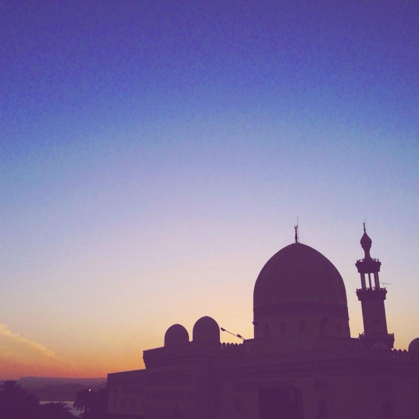 Evening light in Aqaba, Jordan