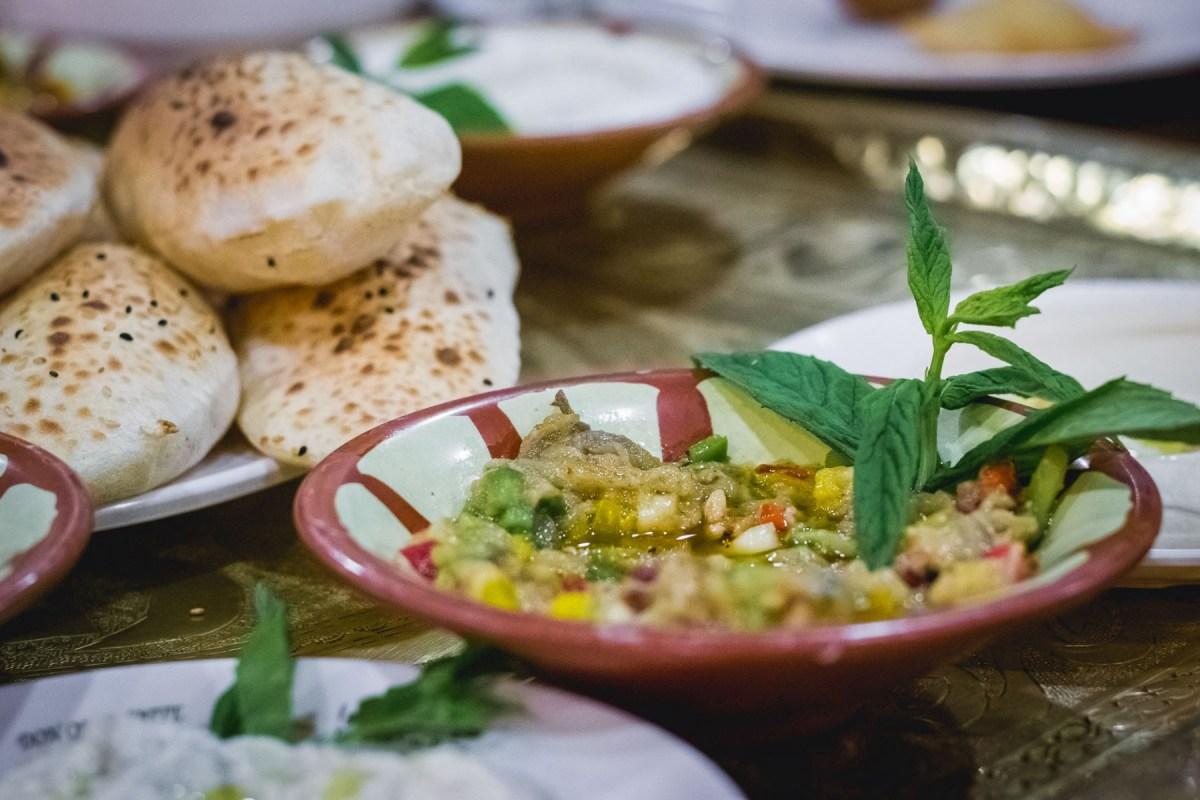 Vegetarian food in Jordan
