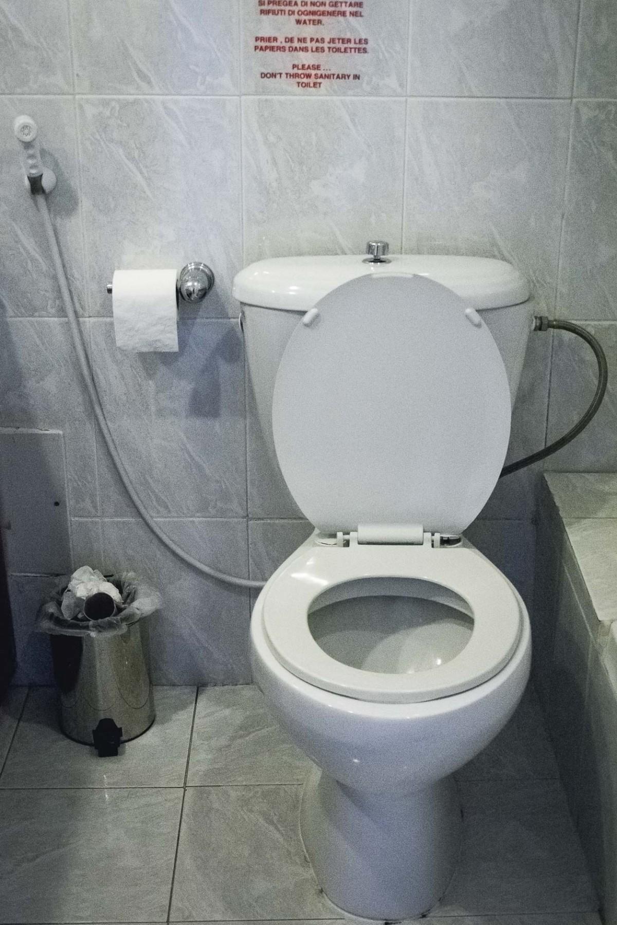 Toilet in Jordan