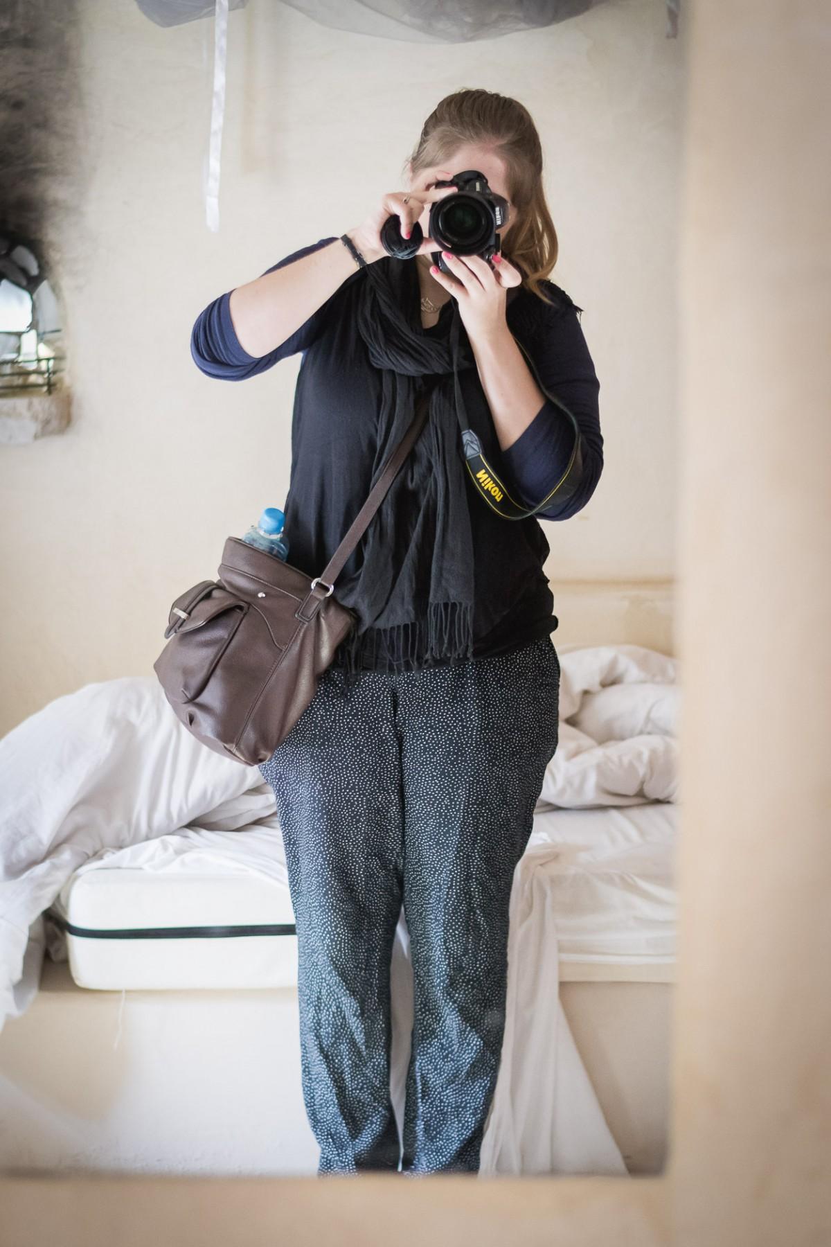 Travel outfit in Jordan