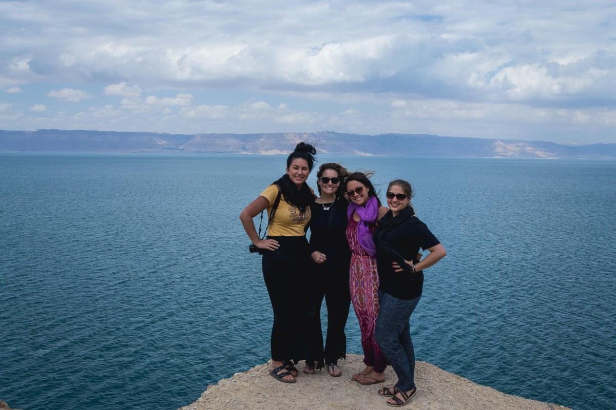#GirlsGoneJordan by the Dead Sea