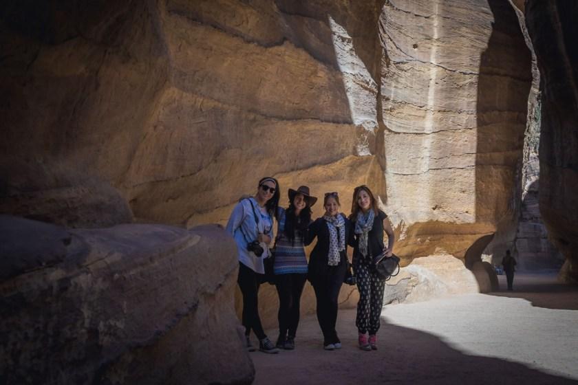 #GirlsGoneJordan in Petra