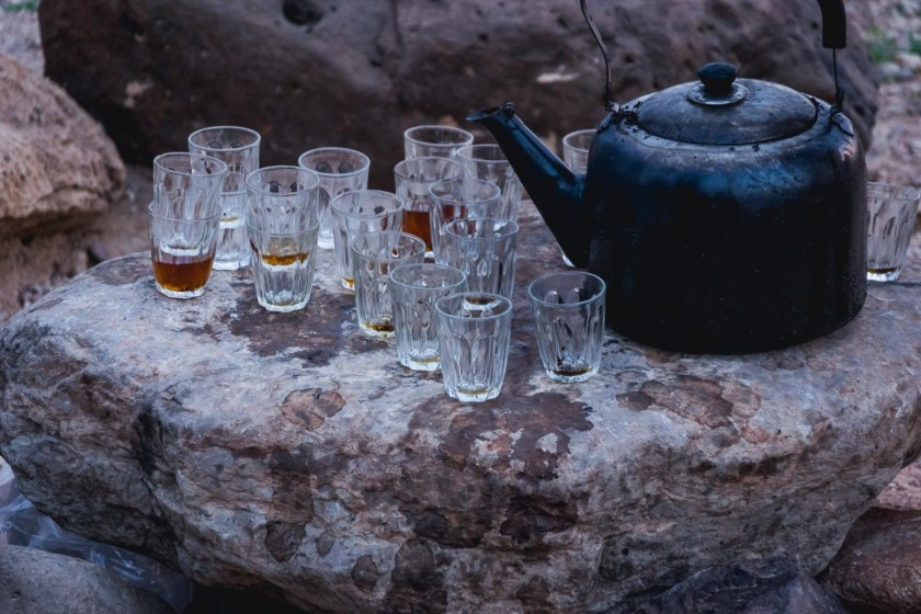 Tea in Dana Nature Reserve, Jordan
