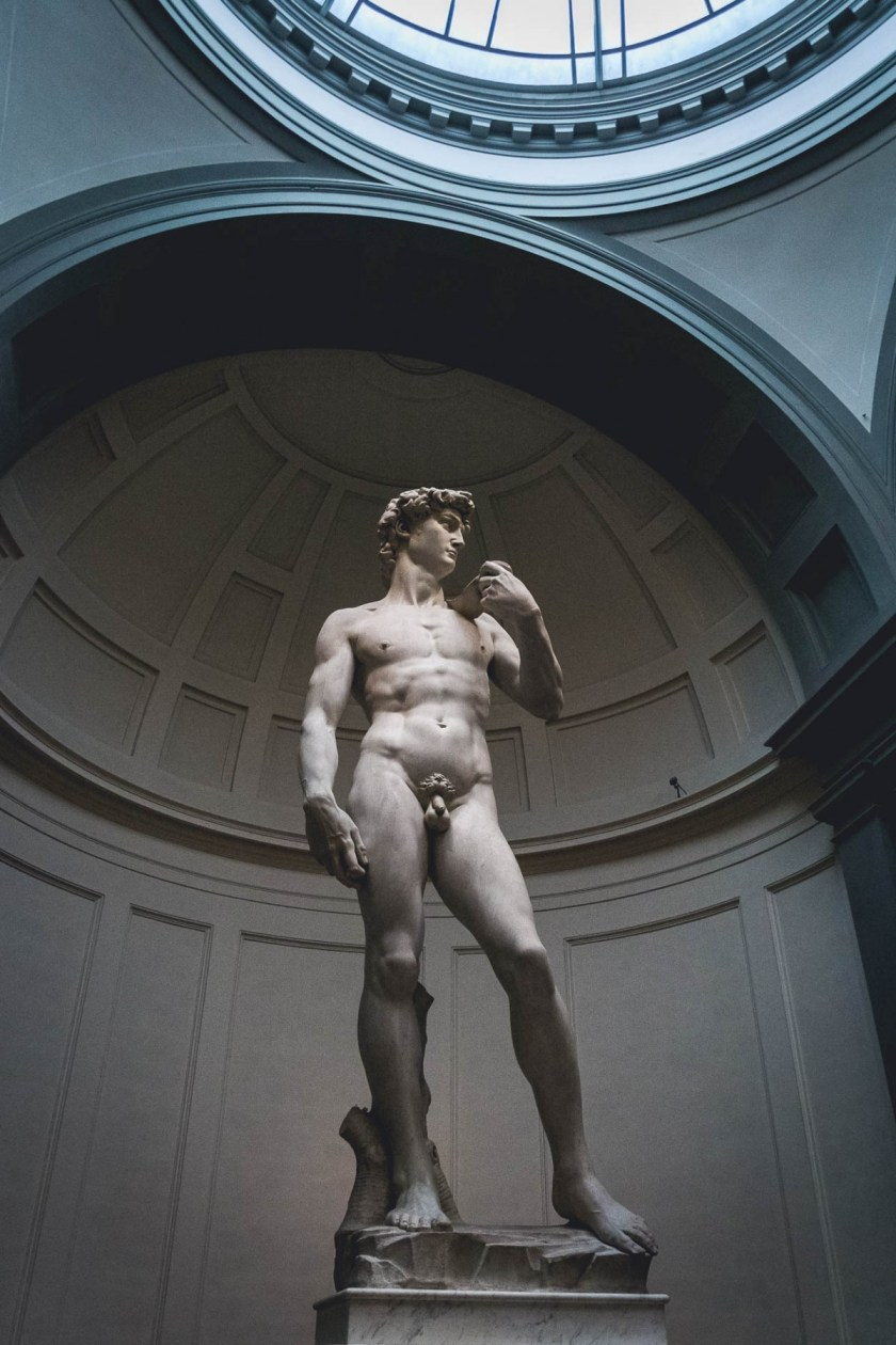 Michelangelo's David, Florence, Italy