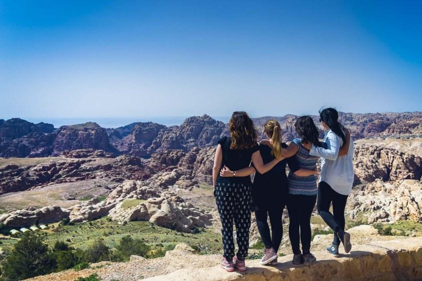 #GirlsGoneJordan near Petra, Jordan