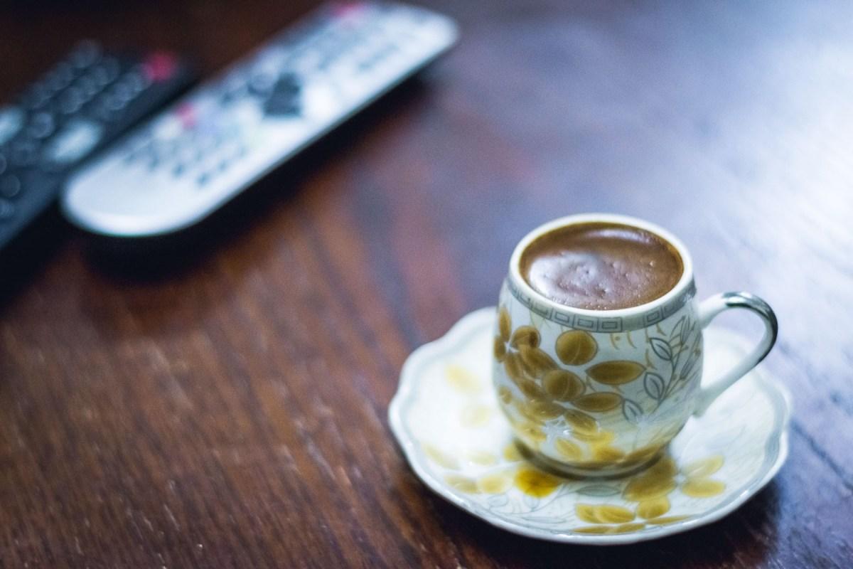 Coffee in Amman