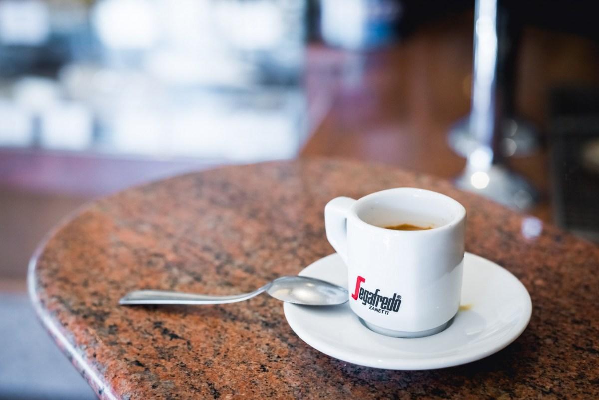 Espresso in Venice, Italy