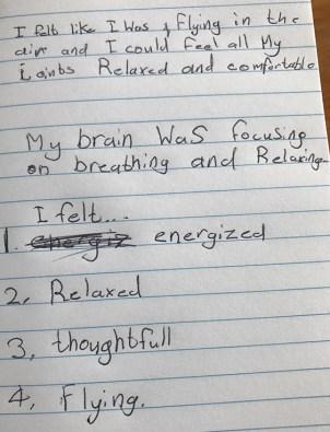 Sati Pasala Wellington Mindfulness Session - Feedback (1)