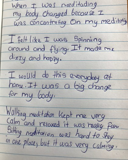 Sati Pasala Wellington Mindfulness Session - Feedback (2)