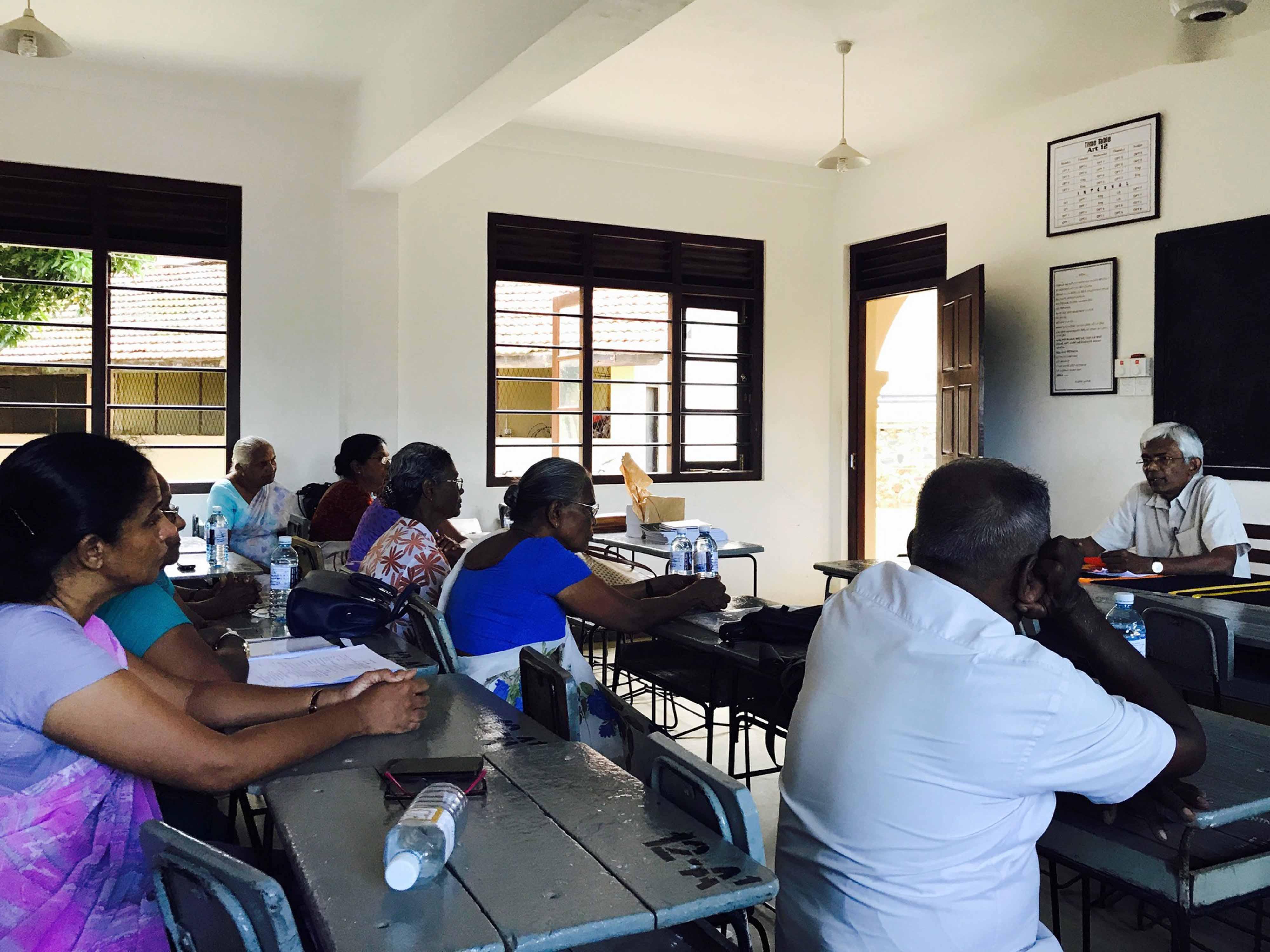 Mindfulness Facilitators Meeting at Mahinda College Galle