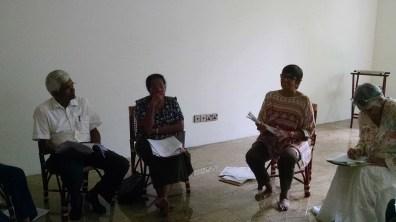 Mindfulness Facilitators Meeting at the Vishwa Parami Office