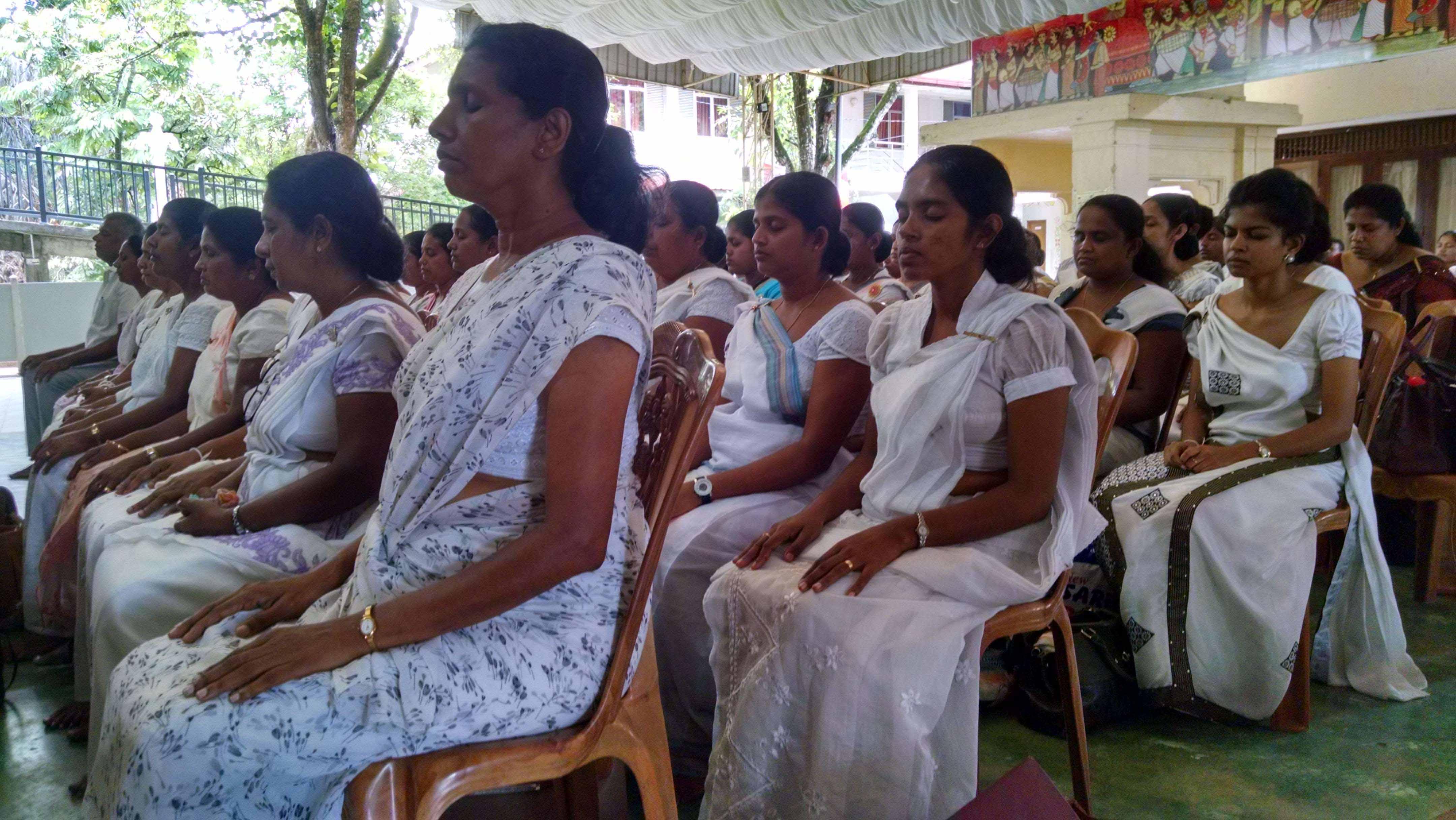 Mindfulness program for National School Teachers from Matale, Kandy and Nuwara Eliya