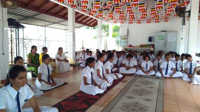 Sati Palasa Mindfulness Program for Vishaka Vidylaya Advance Level Science Students (2)