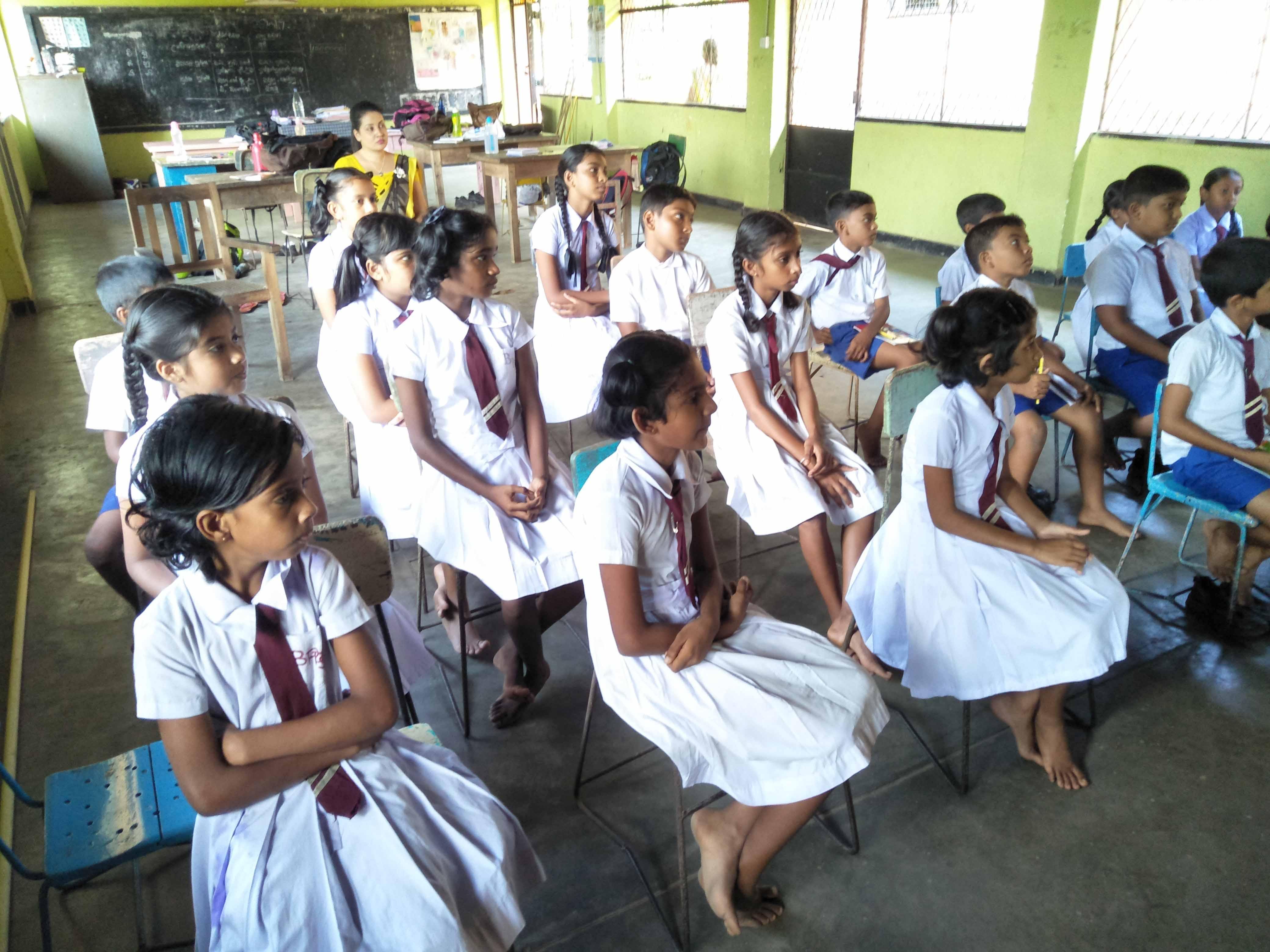 Sati Pasala Programme at WP/ GM/ Bandaranayakepura Primary School, Kirindiwela