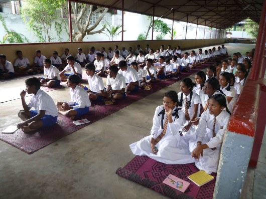 WP/PILI /S.DE S. JAYASINGHE M.M.V Students experienced Mindfulness