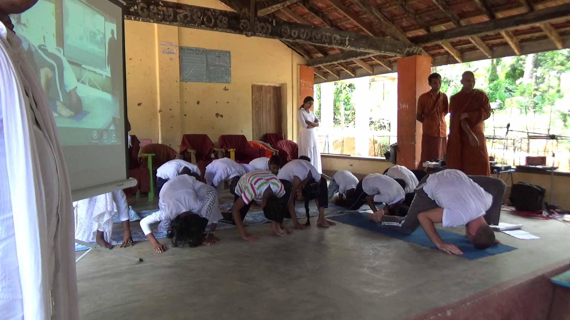 Sati Camp at Meethirigala Kanishta Vidyalaya-yoga session (20)